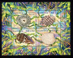 Namibia 1998 Shells Souvenir Sheet Unmounted Mint. - Namibia (1990- ...)