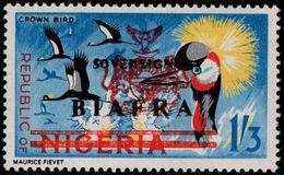 Biafra 1968 1s3d Crown Bird Unmounted Mint. - Nigeria (1961-...)