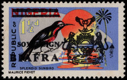 Biafra 1968 1½d Splendid Sunbird Unmounted Mint. - Nigeria (1961-...)