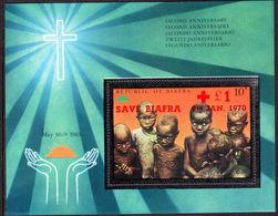 Biafra 1970 Save Biafra Souvenir Sheet Unmounted Mint. - Nigeria (1961-...)
