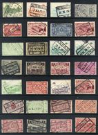 Y48 - Belgium - Railway Parcel Stamps - Used Lot - Bahnwesen