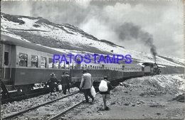 92484 PERU LIMA HUANCAYO STATION TRAIN ESTACION DE TREN GALERA POSTAL POSTCARD - Peru