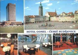 72051465 Ceske Budejovice Hotel Gomel Zihkovo Namesti Restaurace Druzba Vstupni - Schneeberg