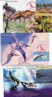 Mexico 3 MC+1 FDC+Sheet From 3 St. - Postzegels