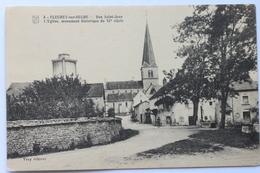 Rue Saint-Jean L'Eglise, Monument Historique Du XI Siècle, Fleurey-sur-Ouche, France, 1924 - France