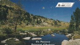 TELECARTE 100 UNITATS  ANDORRE  ELS PESSONS - Andorra