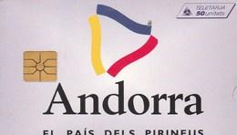 TELECARTE 50 UNITATS - Andorra