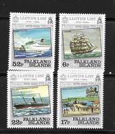 FALKLAND 1984 BATEAUX-LLOYD'S  YVERT N°420/23 NEUF MNH** - Schiffe