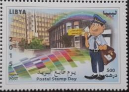 Libya 2015 NEW MNH Stamp - Postal Stamp Day - Libya