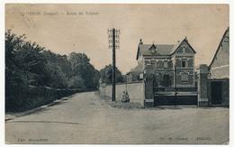CPA - CAMBRON (Somme) - Route Du Tréport - France