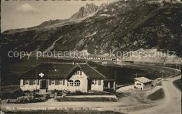 11962399 Oberalppass Passhoehe Gebirgspass Hotel Piz Calmot Piz Ner Oberalppass - GR Graubünden