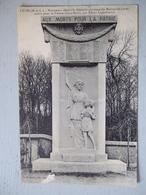 LEVES (EURE ET LOIR ) / MONUMENT ELEVE  A LA MEMOIRE GLORIEUSE  DES ENFANTS DE LEVES - Monuments Aux Morts