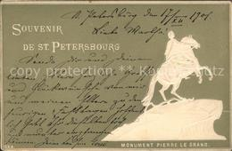 11709135 St Petersbourg St Petersburg Monument Pierre Le Grand Peter Der Grosse - Russia