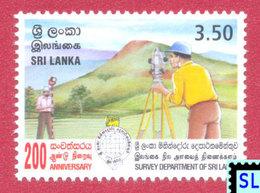 Sri Lanka Stamps 2000, Survey Department, MNH - Sri Lanka (Ceylon) (1948-...)
