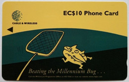 321CSLB Millennium Bug EC$10 - Sainte Lucie