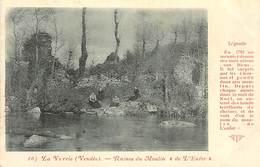 PIE-R-18-1892 : LA VERRIE. CARTE PRECURSEUR. POUPIN MORTAGNE - Other Municipalities