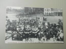 NIEVRE FOURCHAMBAULT CAVALCADE DU 17 MAI 1908 CHAR DE LA MUSIQUE MUNICIPALE - Frankreich