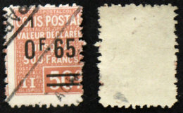 COLIS POSTAUX N° 61 Oblit TB Cote 10€ - Used