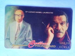 233CSLA Nobel Laureates US$20/EC$53 - Saint Lucia