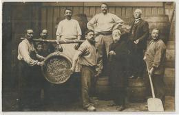 CARTEE PHOTO BRASSERIE DE L'ANGE 1910 - Foto