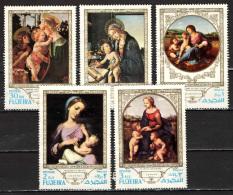 FUJEIRA - 1975 - OPERE D'ARTE RELIGIOSE - USATI - Fujeira