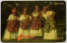 96CSLA Women Of St Lucia EC$20 - Santa Lucía