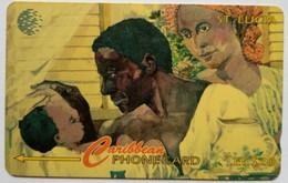 60CSLA People Of St Lucia EC$20 - Santa Lucía