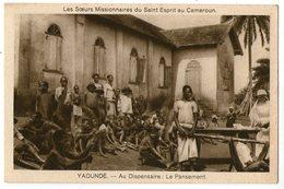 CPA     CAMEROUN    YAOUNDE    AU DISPENSAIRE    LE PANSEMENT     SOEURS MISSIONNAIRES - Cameroon