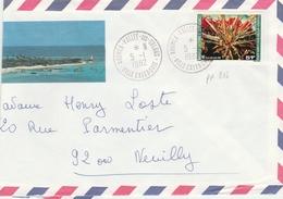 Nouméa Vallée Des Colons 1982 Calédonie - Lettre Brief Cover Letter - - Nieuw-Caledonië