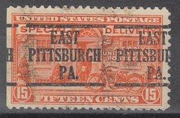 USA Precancel Vorausentwertung Preo, Locals Pennsylvania, East Pittsburgh E13-226 - Vereinigte Staaten