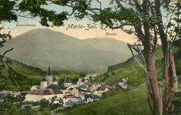 003616 Maria-Zell Mit Gemeindealpe Und Ötscher 1919 - Mariazell