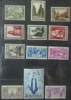 BELGIE   1932   'Tweede Orval'    Nr. 363 - 374   Licht Spoor Van Scharnier *   CW  1100,00 - Bélgica