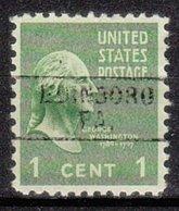 USA Precancel Vorausentwertung Preo, Locals Pennsylvania, Edinboro 745 - Vereinigte Staaten