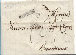 Ham004 / Hamburg über Hannover-Postamt 1788 Nach Frankreich - Hamburg