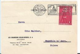 B392 / Belgien, Stempelwerbung Weltausstellung 1930 In Antwerpen - Belgien