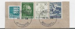 Dänemark 003 / Fragment Mit 4 Marken 2018 - Danimarca