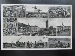 Postkarte Postcard Graz - Panzer - Wehrmacht - FLAK - Briefe U. Dokumente