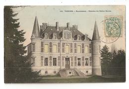 85 Bournezeau, Chateau Du Chêne Bertin (836) - Other Municipalities