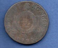 Convention  --  Sol Aux Balances  1793 D  -  état  B - 1789-1795 Period: Revolution
