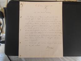 LE CROTOY SOMME COLONEL DELMEE  6 RUE PIERRE GUERLAIN COURRIER DU 29 JUIN 1941 - Manuscripts