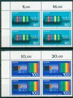 BRD  1994 / MiNr.    1732 - 1733  Eckrand Viererblocks Oben Links    ** / MNH  (q2343) - BRD