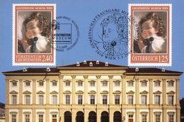 Liechtenstein 2008: F.Amerling: Prinzessin Marie Franziska (1834-1909) Zu 1414 Mi 1471 Auf MK 282 (Zu CHF 8.50) - Emissions Communes