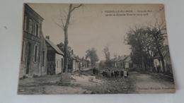 MERVILLE AUX BOIS :grande Rue Aprés La Guerre 1914-1918  ,n°4 - France