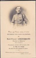 MILITARIA--faire-part De Décès Novembre 1924--souvenez-vous Dans Vos Prières--( Croix De Guerre )--voir 2 Scans - Décès