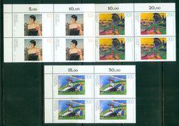 BRD  1994 / MiNr.   1748 - 1750  Eckrand Viererblocks Oben Links   ** / MNH  (q2351) - BRD