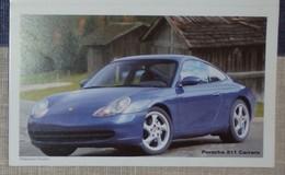 Petit Calendrier Poche 2001 Voiture Porsche 911 Carrera 4 Volets Carquefou - Calendars