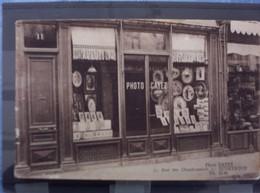 Superbe Carte Publicitaire Photo Cayez 11 Rue Des Chaudronniers à Dunkerque Tél 21-41. Très Rare. - Dunkerque