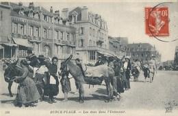 62) BERCK : Les ânes Dans L'Entonnoir - Berck