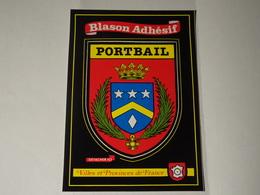 Blason Ecusson Autocollant Adhésif Aufkleber Wappen Adesivi Stema Portbail - Postcards