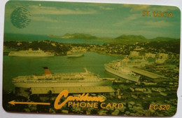 12CSLA Coast EC410 - Saint Lucia